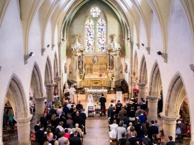 église mariage photographe kermodest