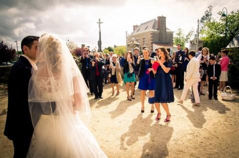 photographe mariage manoir kermodest