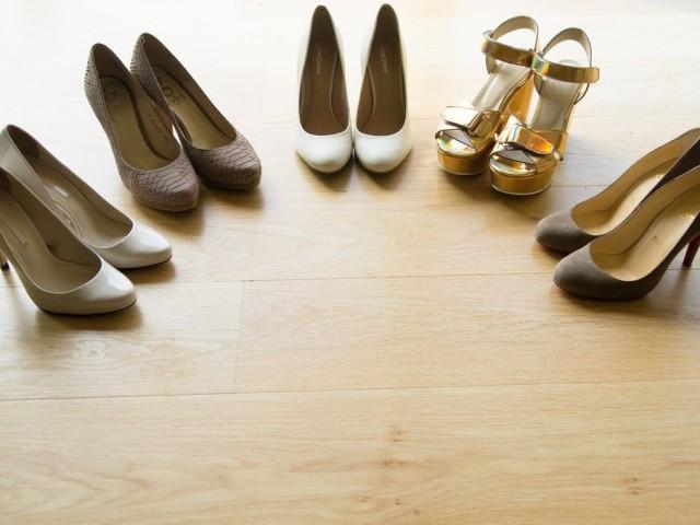 chaussures préparatifs mariage bretagne
