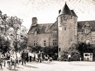 chateau de locquenole bretagne mariage