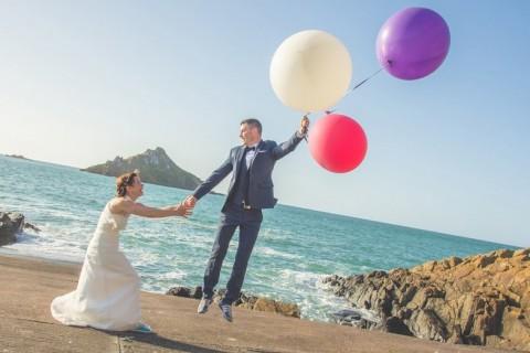photographe castel beau site couple bretagne