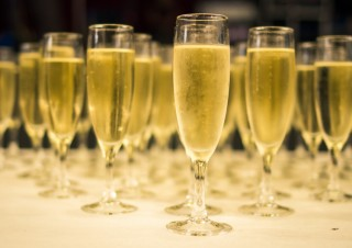 champagne déco mariage