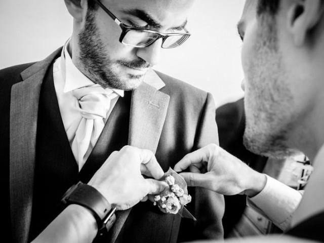 préparatifs mariage homme