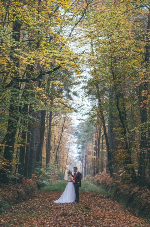 photo couple foret