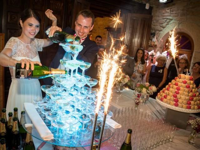 soirée de mariage au manoir de kerhuel