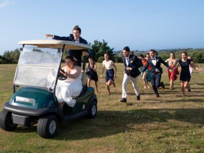 mariage golf saint samson