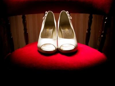 préparatifs chaussure mariées bretagne