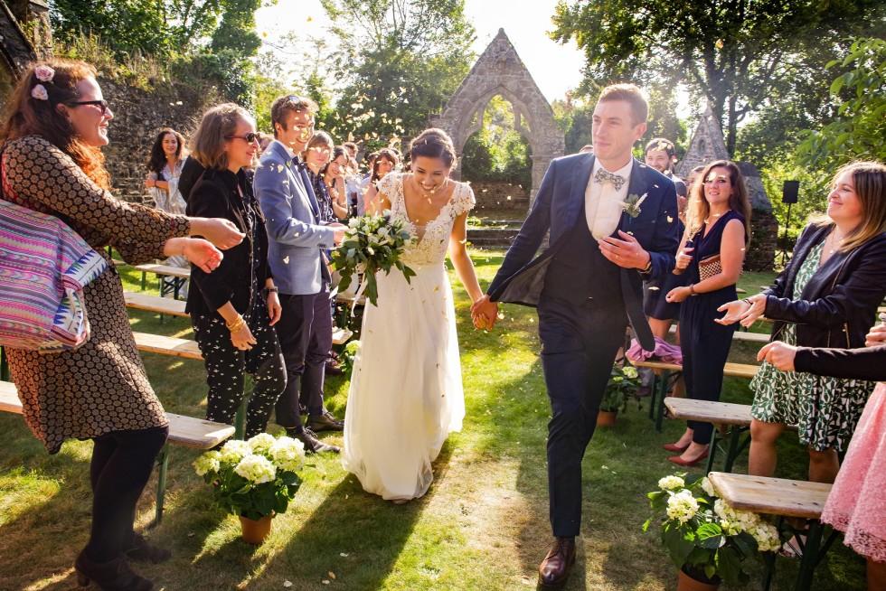 Mariage Y&L – La cérémonie laïque s'achève…