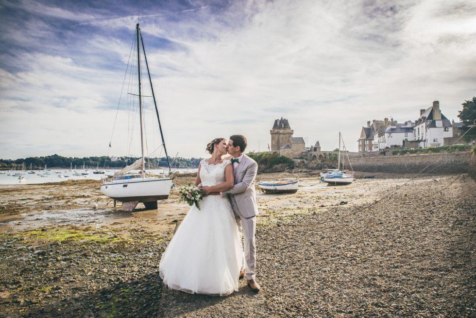 Séance After Wedding en Bretagne à Saint Servan