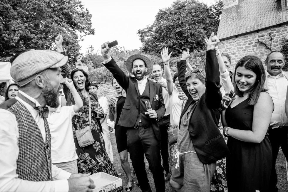 Photographe mariage Bretagne, à la noé verte